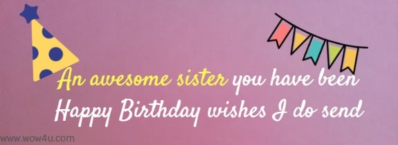 Incredible Happy Birthday Sister Poems Funny Birthday Cards Online Sheoxdamsfinfo