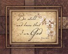 Christian Inspiration from Wall Art