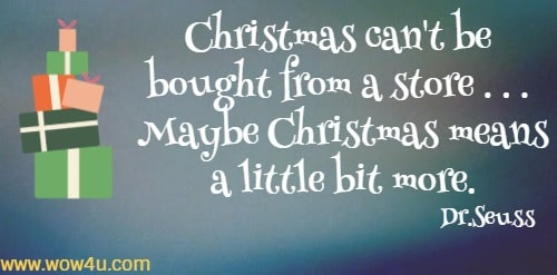 xmas quotes to reflect on