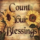Wall Art about Count Your Blessings