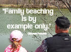 Family teaching is by example only. Chinese Proverbs