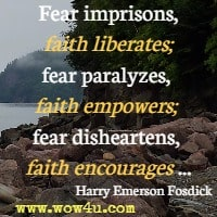 119 Fear Quotes Inspirational Words Of Wisdom