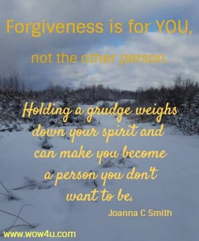 inspiring and uplifting quote to remind you to forgive