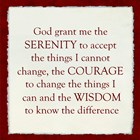 Serenity Prayer And More. . . .