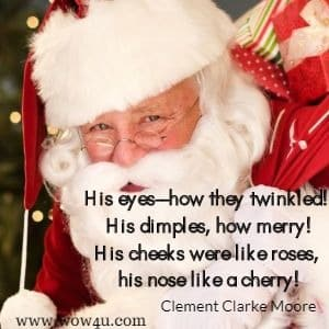 popular kids christmas poems