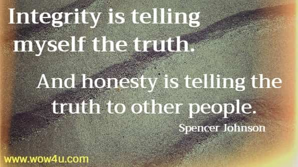 57 Integrity Quotes - Inspirational Words of Wisdom