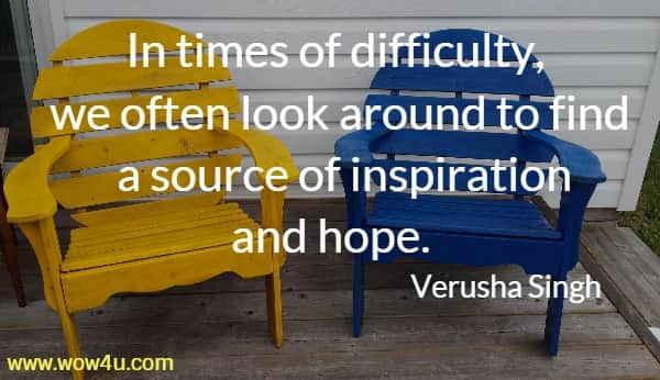 quote on difficulties and life