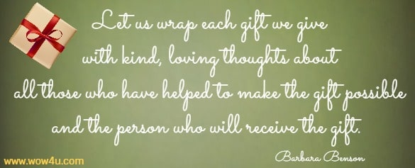 quotes about giving at xmas