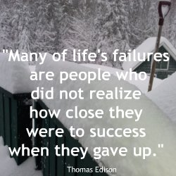 Quotations about Failures