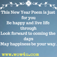 r elax take the time to relax in this coming year keep a balance in your life new year poem