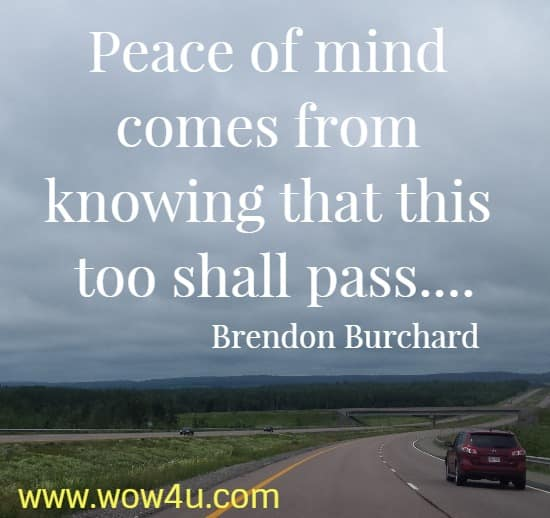 inner peace quotes inspirational words of wisdom