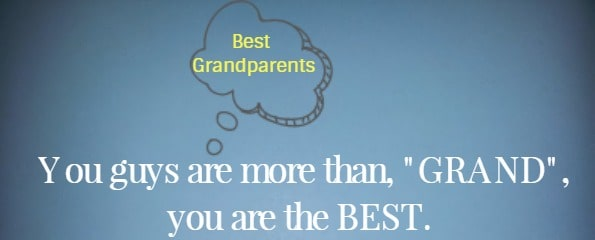 You guys are more than, GRAND, you are the BEST.